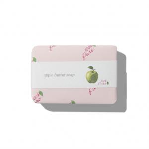 Kremno trdo milo z vonjem jabolka (127g). 100% Pure, naravna kozmetika.