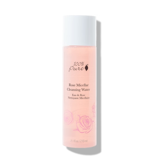 Micelarna čistilna vodica iz vrtnice, 210ml. 100% Pure, naravna kozmetika.