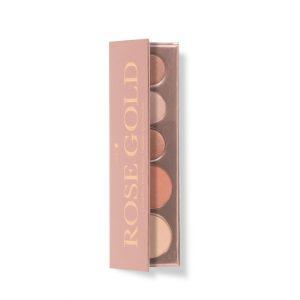 Paleta naravnih ličil Rose Gold. 100% Pure, naravna kozmetika.