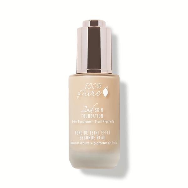 100% Pure - Naravni puder - 2nd skin foundation - Odtenek 3