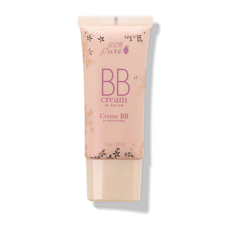 100% Pure BB krema, odtenek Aglow, SPF15 (30ml). 100% Pure.