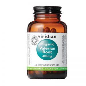 Ekološka korenina baldrijana, 60 kapsul. Viridian Nutrition, naravni prehranski dodatki.