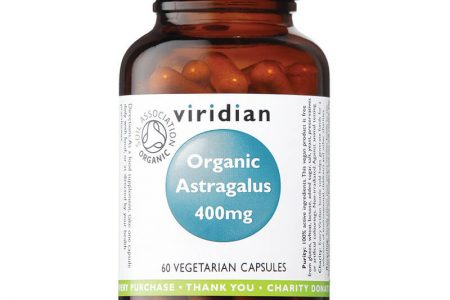 Ekološki astragalus 400 mg, (60 kapsul)