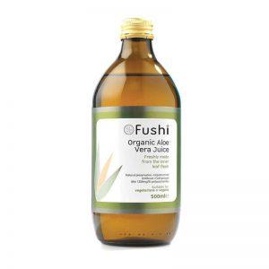 Ekološki sok Aloe vere, 500 ml. Aloe Vera. Fushi, naravni prehranski dodatki.