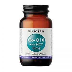 Koencim Q10 z MCT 100mg, 30 kapsul. Viridian Nutrition, naravni prehranski dodatki.