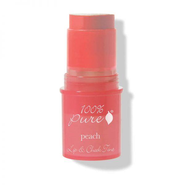 Kremna tinta za lica in ustnice z breskvo (7.5 g). 100% Pure, naravna kozmetika.