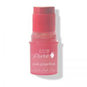 Kremna tinta za lica in ustnice z rdečo grenivko (7.5 g). 100% Pure, naravna kozmetika.