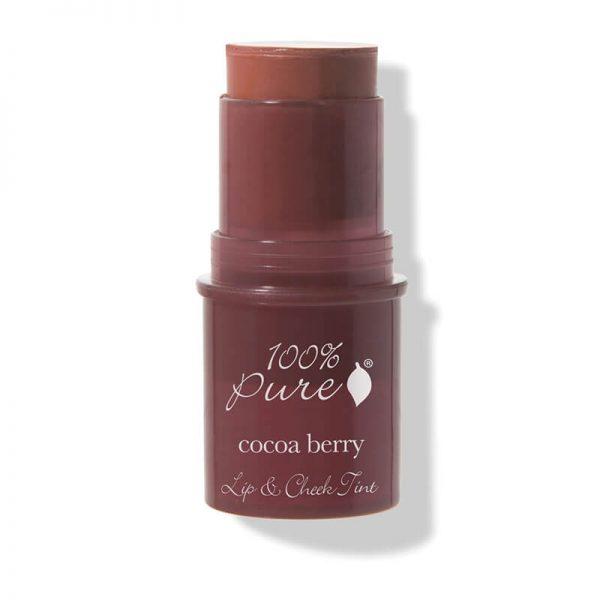 Kremna tinta za lica in ustnice s čokoladnimi jagodami (7.5 g). 100% Pure kozmetika.