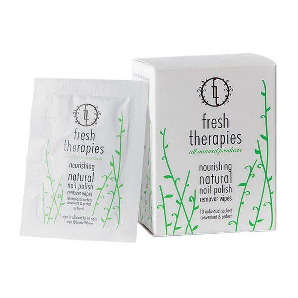 Eden, naravne krpice za odstranjevanje laka (10 kom). Fresh Therapies.