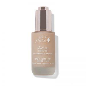 2nd Skin Foundation, naravni puder - odtenek 6 (35ml). 100% Pure, naravna kozmetika.