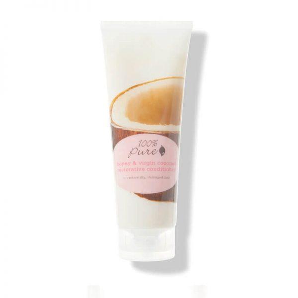 Obnovitveni balzam, med in deviški kokos (236 ml). 100% Pure, naravna kozmetika.