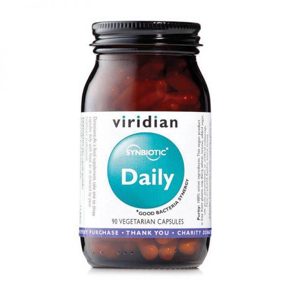 Probiotiki dnevna simbioza, (90 kapsul). Viridian Nutrition.