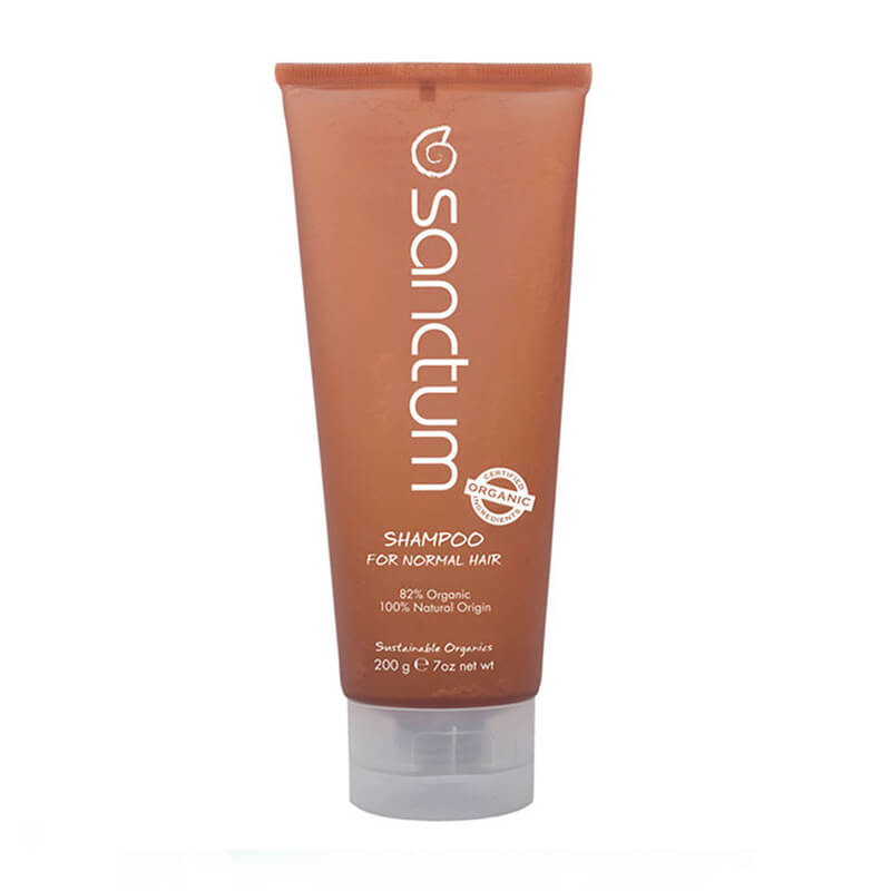Negovalni šampon za normalne lase (200 ml). Sanctum, naravna kozmetika.