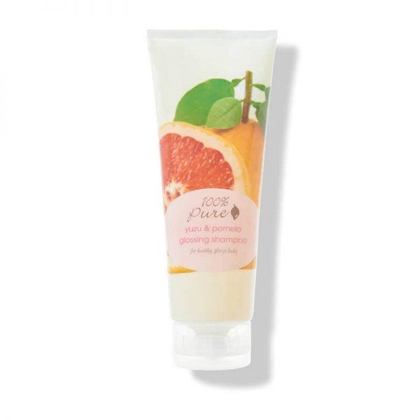 100% Pure šampon za sijoče lase, yuzu citrus & pomelo (236ml)