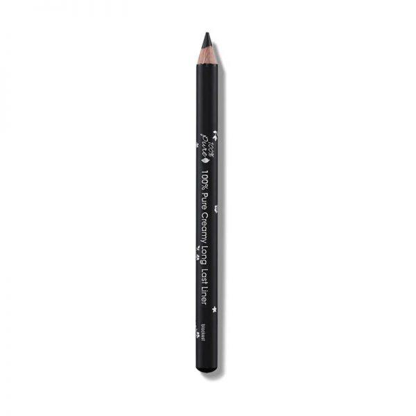 Svinčnik za oči, črn odtenek. Blackest. 100% Pure, naravna kozmetika.