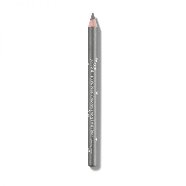Svinčnik za oči, srebrno siv odtenek. Silver. 100% Pure, naravna kozmetika.