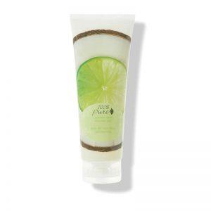 100% Pure Vlažilni gel kokos limeta (236 ml). 100% Pure.