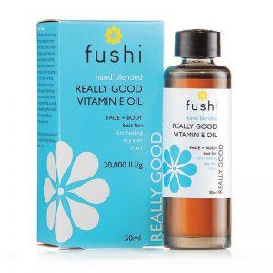 Zares dobro vitamin E olje (50ml). Fushi, naravna kozmetika.