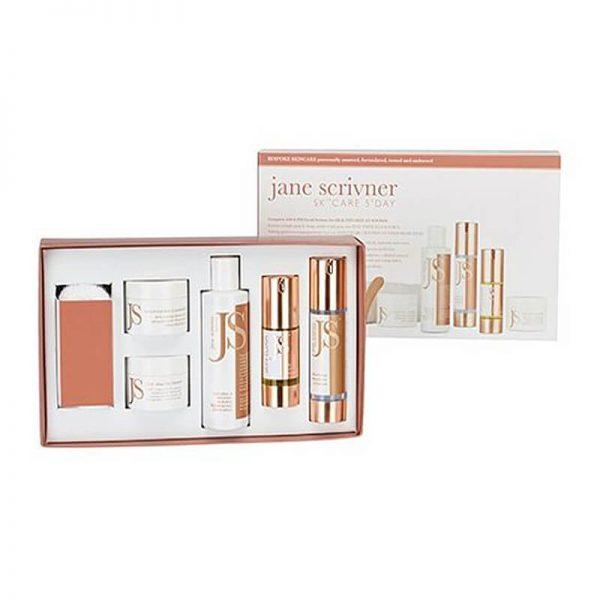 Paket za nego kože, 5 na dan. Jane Scrivner.