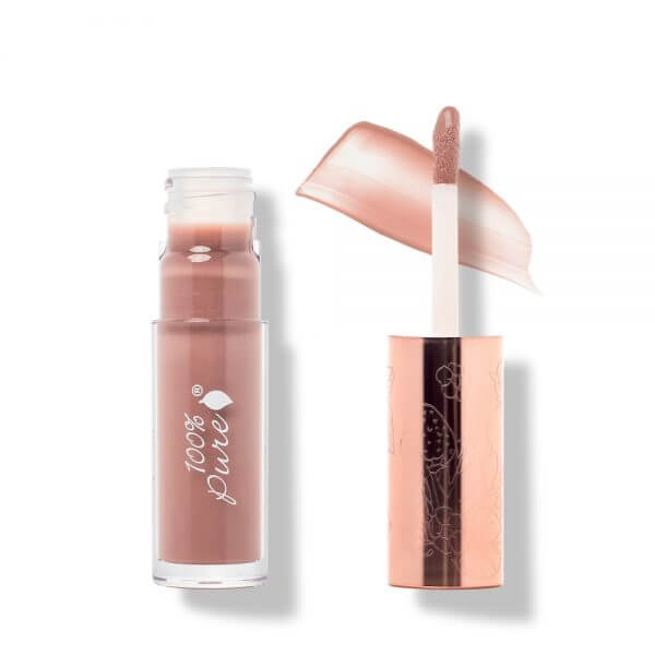 Fruit Pigmented Lip Gloss: Pink Caramel