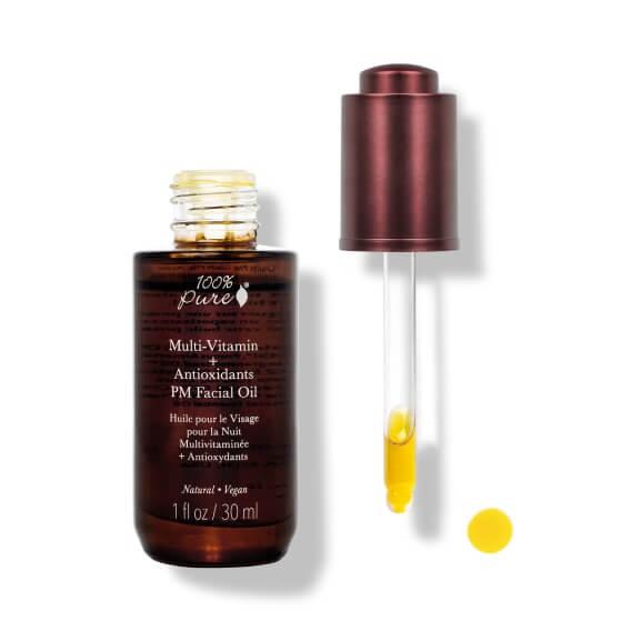 Multivitaminsko antioksidantno nočno olje za obraz, 30ml