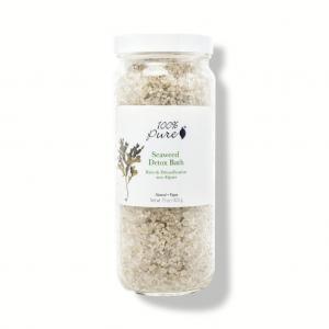 100% Pure - Seaweed Detox Bath - Kopalna sol
