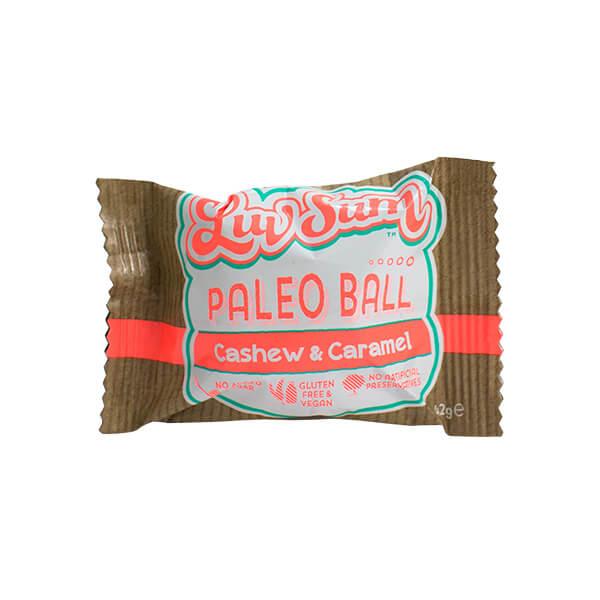 Luv&Co-proteinska-kroglica-indijski-oreščki-in-karamela,-40g